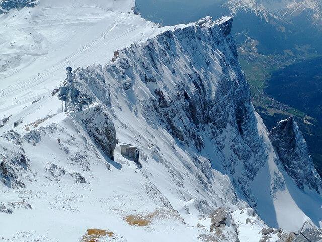 Zugspitze Skifahren Hotel an der Zugspitze