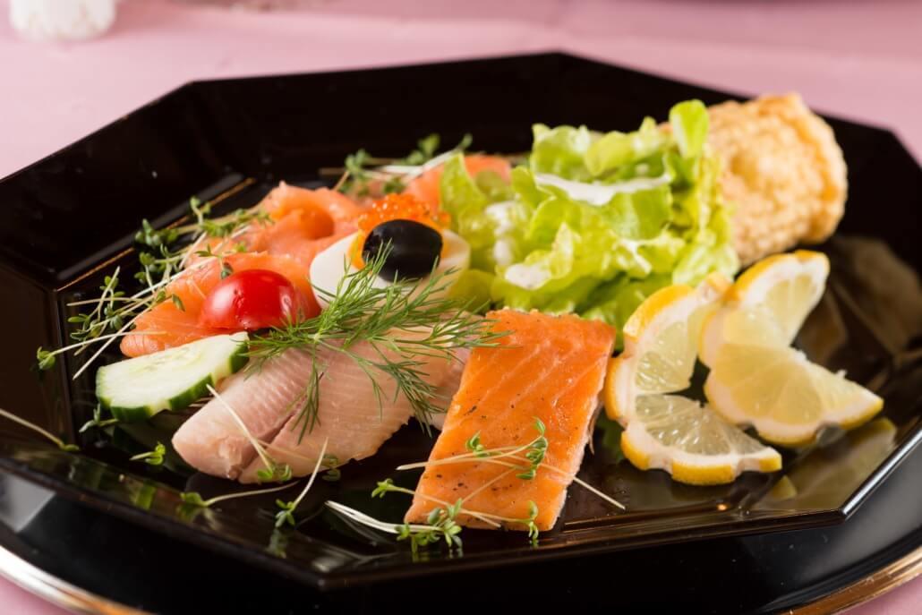 Fischvorspeise Rstaurant Alpenhof Grainau
