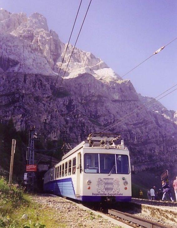 Bayerische Zugspitzbahn am Riffelriss